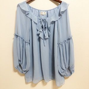 Max Studio Specialty Products | Ruffled Blouse